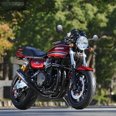 This resto-mod Kawasaki Z1 from Japanese custom builder AC Sanctuary costs a cool $37,000.