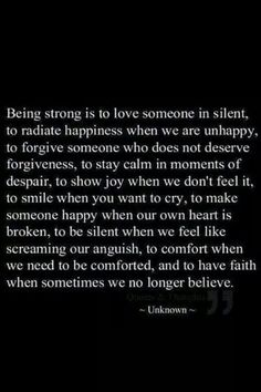 Strong....