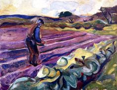 The Sower  by: Evard Munch
