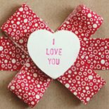 TUTORIAL - Faux Valentine Candy Hearts (for package decorations, card embellishments, etc.)