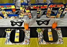 Fussy Monkey Business: Super Hero Birthday Party Inspiration