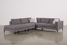 Alistair 4 Piece Sectional - Living Spaces