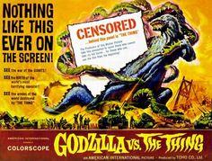 Godzilla - on the Screen  (1954 - 2014)