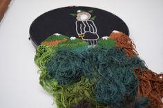 #embroidery #bordado #textil #iloveyoulikeamountain #corbatadeamarillo