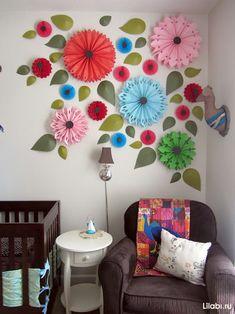 Украшение стен в квартире своими руками