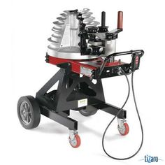 GARDNER BENDER B2000. Electrical Conduit Bender Capacity 1/2 to 2 In. EMT Rigid IMC Conduit Voltage 110/115 15 Amps 2400 Watts 60 Cycle Receptacle Type 3 Prong Cord Length 6 Ft.Operating Position Horizontal and Vertical Steel and Aluminium Construction Wheel Type Solid Wheel Dia. 4 In.and 12 Automatic Shut-Off Hook Attachment On Pendant Control 1hp DC Motor Fork Lift Tubes Lift Hook Security Tethering Tool Storage Area One Shoe Application Conduit Bending Includes Weather Resistant Cover