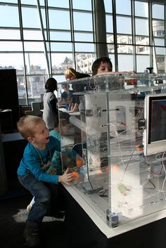Ars electronica have a touring exhibition for children 4-8 to get to grips with digital technology