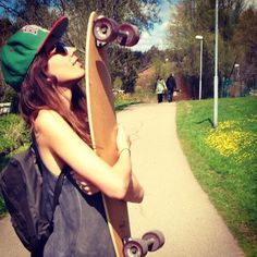 there is never any skater girls in my area and i love to skate so does my cuz we are the only girls ever there!