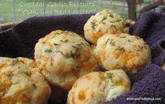 Cheddar Garlic Scones by Debi @ Recipes For My Boys