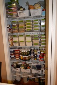 small pantry - organize
