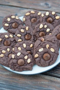 Peanuts and a Hersehy's Kiss give these soft and chewy chocolate cookies the look of a bear paw! Birthday Treats, Boy Birthday, Chewy Chocolate Cookies, Bakerella, Bear Party, Family Birthdays, House Drawing, Camping Theme, Woodland Theme