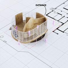 House O by Penda [floor plan : level 0]