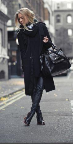 pretty, lovely black