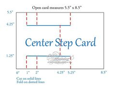 A2 Stair Step Card Guide