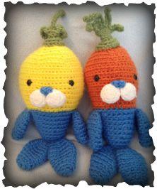 Crochet Pattern               Octonauts - TUNIP The Vegimal