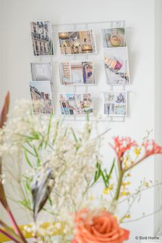 Bloemen en kaartenrekje HEMA keuken ©BintiHome