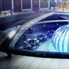 Dubai's Futuristic Underwater Hotel