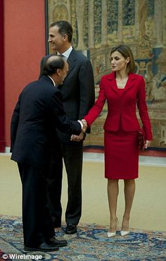 Reine Letizia roi Felipe
