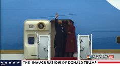 The Obamas officially became former president and former first lady on Friday, as Donald T...