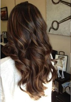 Dark brown with lowlights