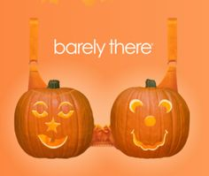Barely There Carve a Pumpkin Bra Giveaway! #BTPumpkinBra