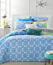 CLOSEOUT! Whim by Martha Stewart Collection Bow Tie Bedding Collection, Only at Macy's