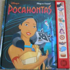Play-A-Sound Disney Pocahontas.loved the compass sound haha Disney Pocahontas, Disney Princess, Cartoon Books, 90s Kids, Vintage Disney, Childhood Memories, Childrens Books, Growing Up, Good Books