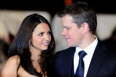 Click here for Matt Damon talking about his former bartender wife, Luciana Barroso.