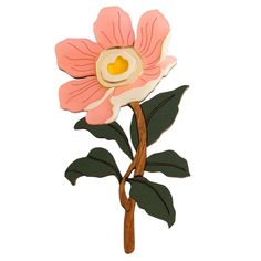 Hannah Zakari - Peony Large Flower Brooch