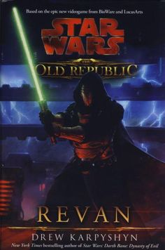 star wars: the old republic: revan, by drew karpyshyn. oh dear lord. is it possible for me to not love a book featuring both of the main characters from my two favourite games of all time? not in this lifetime.