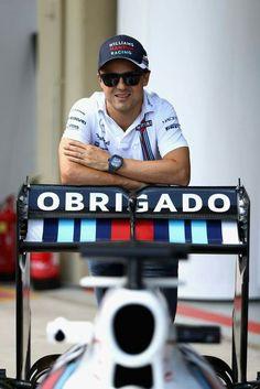 Felipe Massa, F1 driver, 2016, final year
