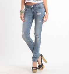 Bullhead Black Flora Blue Skinny Jeans   #bullheadblack  #pacsun
