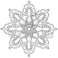 Одноклассники Crochet Snowflake Pattern, Crochet Stars, Crochet Snowflakes, Crochet Granny, Irish Crochet, Crochet Motif, Crochet Lace, Crochet Stitches, Sampler Quilts