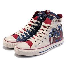 d7acaa158d8 Converse Shoes Beige Superhero DC Comics Classic High Converse Shoes On Sale