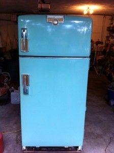 Vintage General Electric 1950 S Retro Refrigerator Quot 1