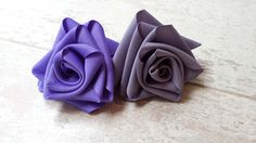 Learn how to make a ribbon rose in under a mintue with this simple and easy to follow video tutorial! For more DIY video tutorials visit our blog!