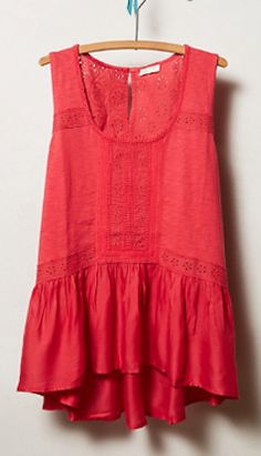 #lace peplum tank  http://rstyle.me/n/f8gqrpdpe