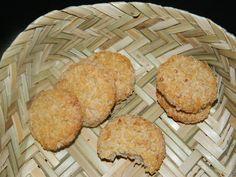Galletas con avena, coco y manzana - recetasabc
