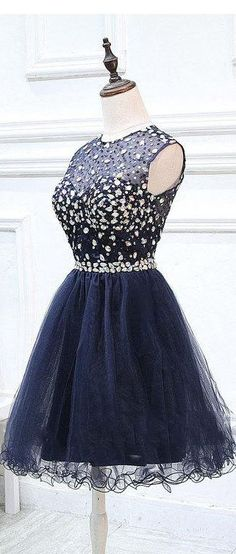 US$125.72-Short Tulle Short Deep Blue Beaded Prom Dress With Open Back. https://www.newadoringdress.com/short-tulle-beaded-dress-with-keyhole-back-p312305.html. Free Shipping! NewAdoringDress selected the best prom dresses, party dresses, cocktail dresses, formal dresses, maxi dresses, evening dresses and dresses for teens such as sweet 16, graduation and homecoming. #prom #dress