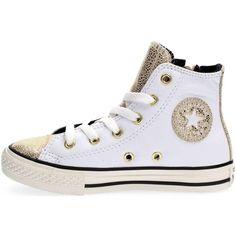 Schuhe Kinder Sneaker High Converse 655162C ALL SYAR HI SNEAKERS Mädchen WHITE WHITE