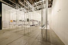Iluminación espectacular y geometría en el Pabellón de Croacia. Imagen © Andrea Avezzù, Cortesía de la Biennale di Venezia
