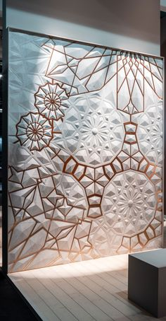 Concrete Wall Panels, Wooden Wall Panels, Feature Wall Design, Wall Panel Design, Plaster Wall Texture, Wall Cladding Interior, 3d Cnc, Stone Panels, Mural Wall Art