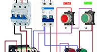 Stop start Electrical Installation, Electrical Wiring, Paros, Electrical Circuit Diagram, Circuit Design, Cool Stuff, Ideas, Electrical Projects, Electric