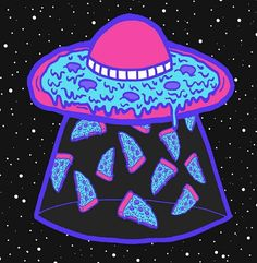 Stream pizza voladora (VENTA) by Marzun Beats from desktop or your mobile device Alien Aesthetic, Pizza Art, Trippy Painting, Goth Art, Aesthetic Stickers, Tumblr Wallpaper, Psychedelic Art, Graphic Design Typography, Cute Wallpapers