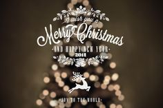 Vintage Christmas And New Year Labels by Invisible Studio, via Behance