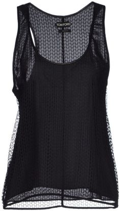 Tom Ford Top in Black #style #top #black #fashion