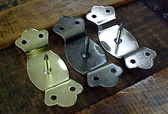 Hardware for trunk handles