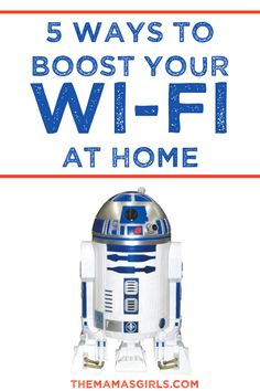 5 Ways To Boost Your Wi-Fi at Home - I NEED this!