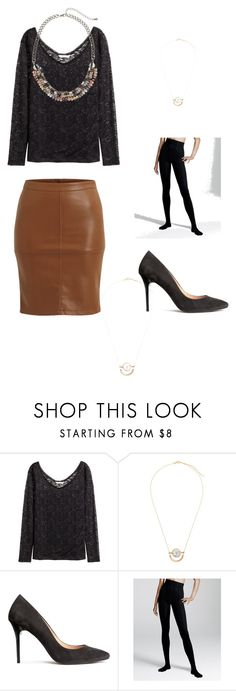 """""""Black dressy set"""" by lone-haure-norrevang on Polyvore featuring H&M and VILA"""