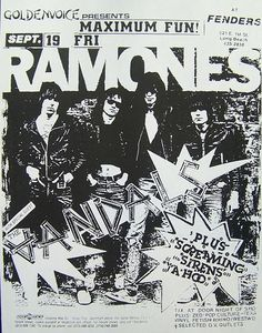 GigPosters.com - Ramones - Vandals, The - Screaming Sirens